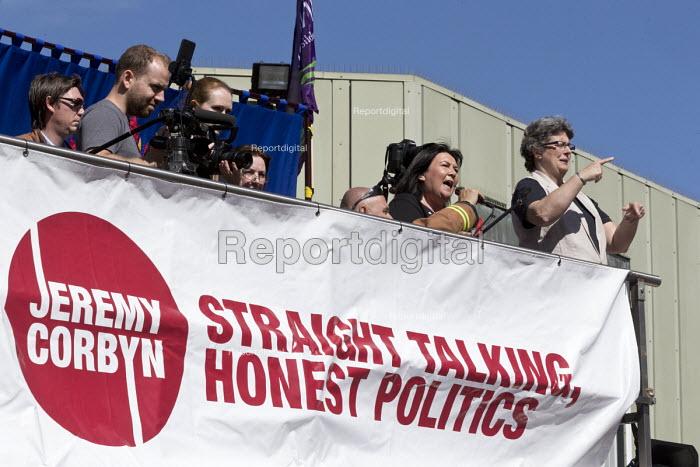 Max Penkethman CWU speaking, Jeremy Corbyn leadership election rally, Hanley, Stoke on Trent - John Harris - 2016-09-01