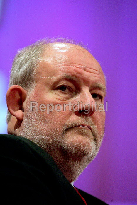 Charles Clarke. 2005 Labour Party Spring Conference, The Sage, Gateshead On Tyne. 13/2 2005 - Mark Pinder - 2005-02-13