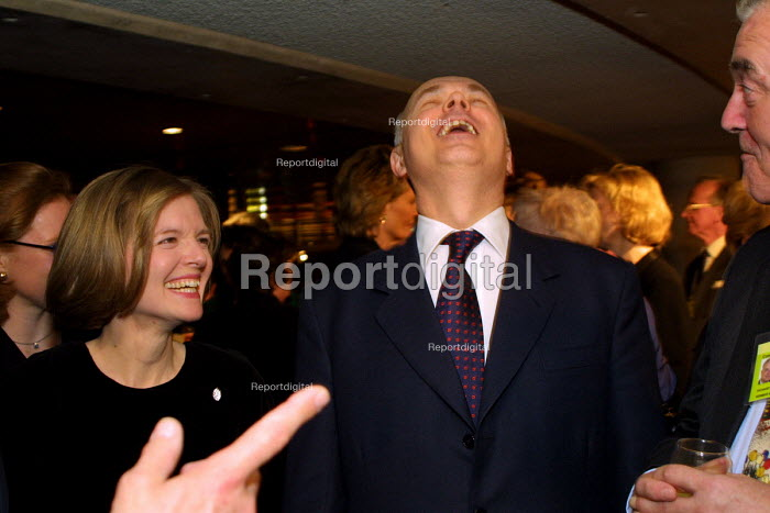 Conservative leader Iain Duncan Smith MP at the Conservative Party spring conference.  Harrogate. - Mark Pinder - 2002-03-23