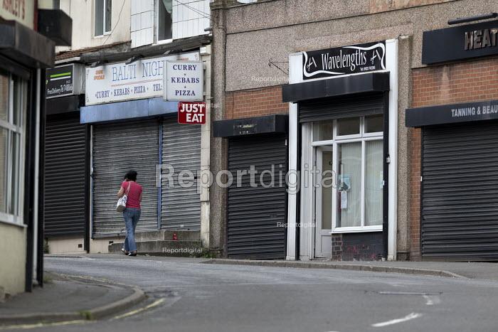 Closed shops, Shirebrook, Derbyshire - John Harris - 2016-09-07