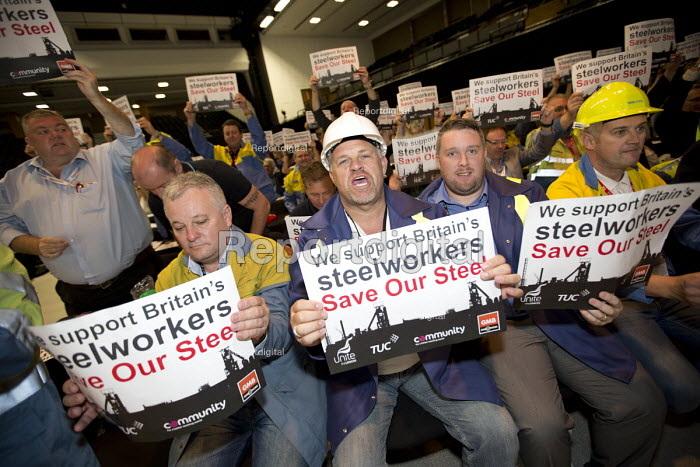 Tata Steel - Save Our Steel Campaign, TUC conference Brighton. - Jess Hurd - 2016-09-11
