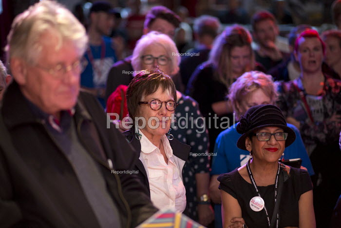 Hilary Wainwright , sociologist, political activist and socialist feminist, editor of Red Pepper magazine, The World Transformed Momentum conference, Liverpool - John Harris - 2016-09-24