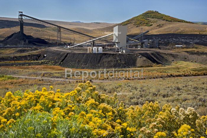 Oak Creek, Colorado, Coal loading facility, Peabody Energy Twentymile Mine - Jim West - 2016-09-19