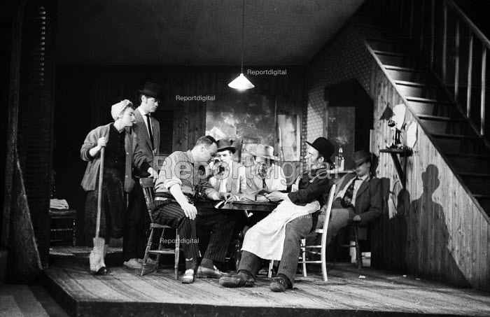 Fings Ain't Wot They Used T'Be by Frank Norman, Theatre Royal, Stratford East 1959 - Alan Vines - 1959-03-06