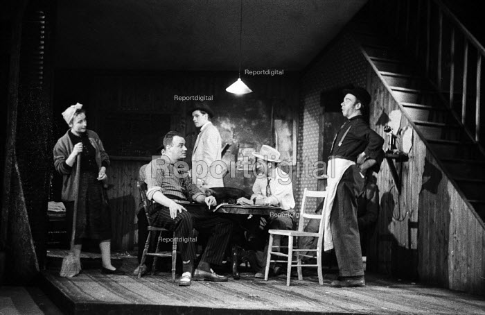 Fings Ain't Wot They Used T'Be by Frank Norman, Theatre Royal Production, Stratford East 1959 - Alan Vines - 1959-03-06