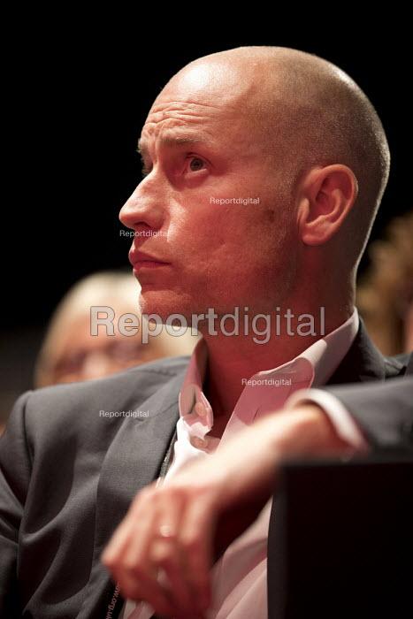 Stephen Kinnock MP, Labour Party conference Liverpool. - Jess Hurd - 2016-09-25