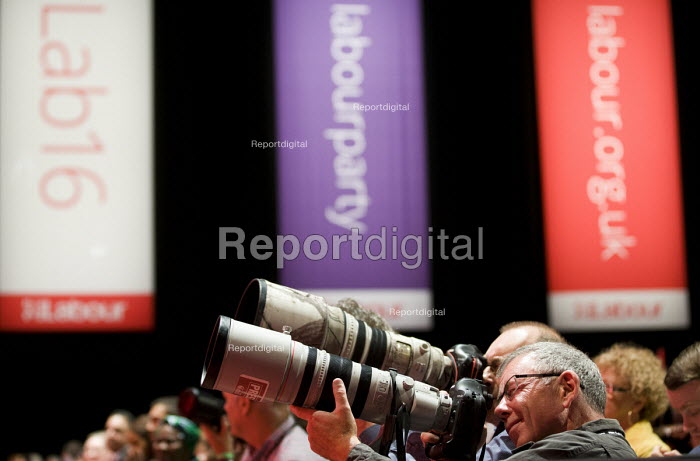 Chris Furlong Getty Images, Media at Labour Party conference Liverpool. - Jess Hurd - 2016-09-26
