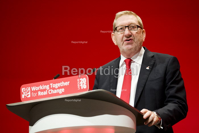 Len McCluskey, UNITE speaking Labour Party conference Liverpool 2016 - Jess Hurd - 2016-09-26