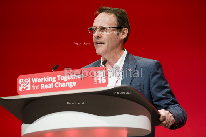 Alan Coombs, Community Union, speaking, Labour Party conference Liverpool - Jess Hurd - 2016-09-26
