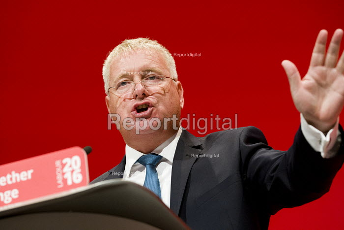 Vernon Coaker MP speaking Labour Party conference Liverpool. - Jess Hurd - 2016-09-26
