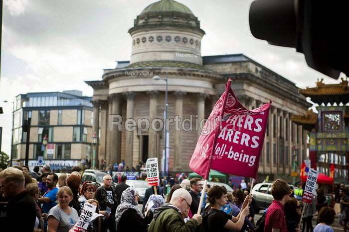 Protest against the closure of Liverpool Womens Hospital, The World Transformed, Black-E, Liverpool - connor matheson - 2016-09-25
