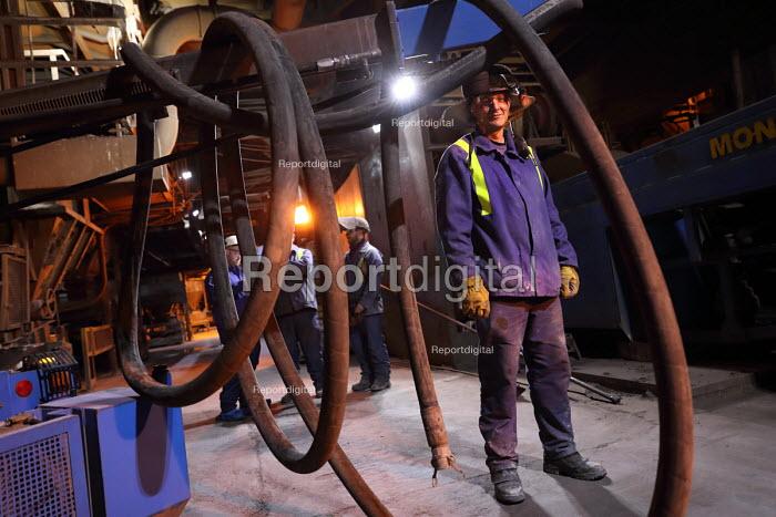 Refractory Engineer, BOS Plant, Tata Steel Port Talbot, South Wales - Jess Hurd - 2016-09-22