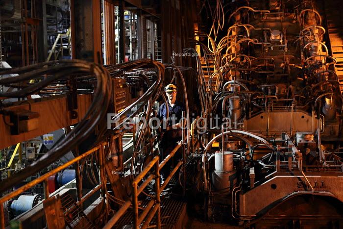 Electrician, Tata Steel Port Talbot, South Wales - Jess Hurd - 2016-09-22