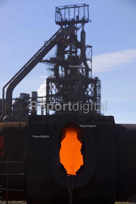 Torpedo ladle, Tata Steel Port Talbot, South Wales. - Jess Hurd - 2016-09-22
