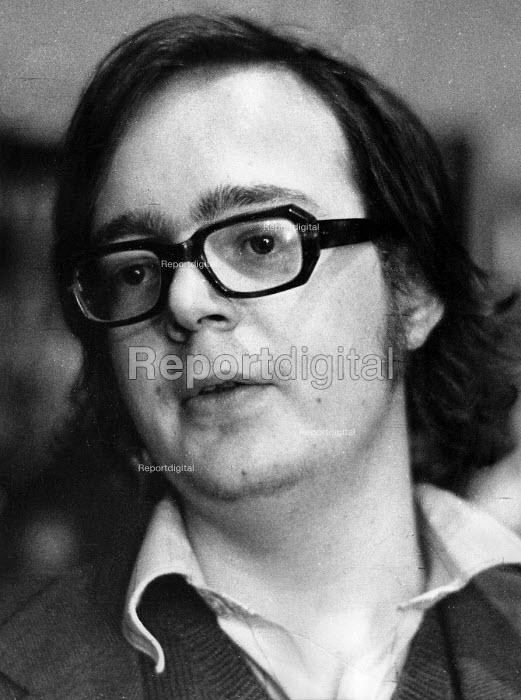 Playwright David Edgar London 1974 - Peter Harrap - 1974-09-12