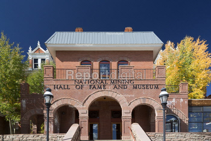 Leadville, Colorado, USA The National Mining Hall of Fame Museum - Jim West - 2016-09-19