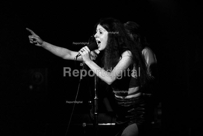 Elkie Brooks singing with Vinegar Joe, Marquee club, London 1971 - Martin Mayer - 1971-04-29