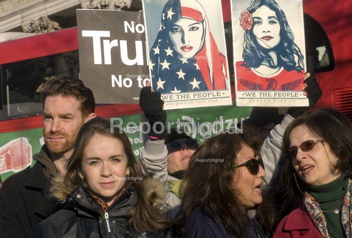 London Women's March against the Presidency of Donald Trump, rally Trafalgar Square - Stefano Cagnoni - 2017-01-21