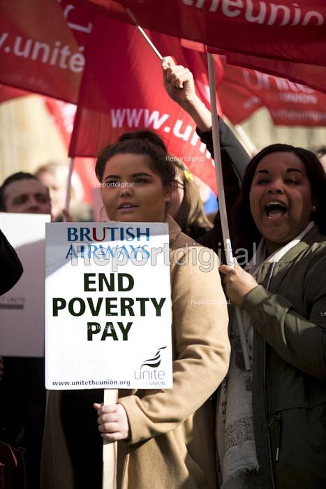 Report digital photojournalism - Striking British Airways