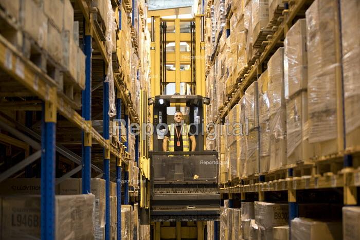 Rob Critchlow, supervisor, Multi User Warehouse, Seaforth Docks, Peel Ports, Port of Liverpool - Jess Hurd - 2016-09-28