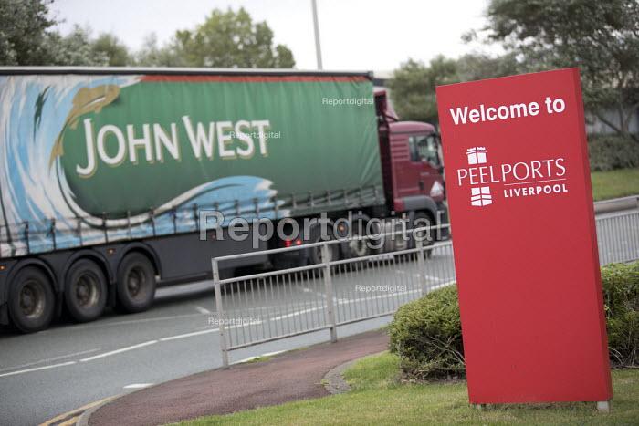 Peel Ports, Port of Liverpool. John West lorry arriving - Jess Hurd - 2016-09-28