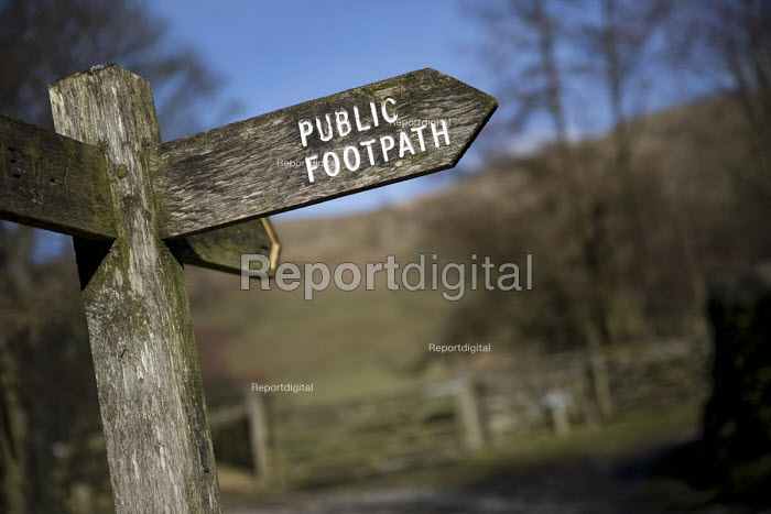 Pennine Way National Trail from Edale, Peak District, Derbyshire - Jess Hurd - 2017-02-24