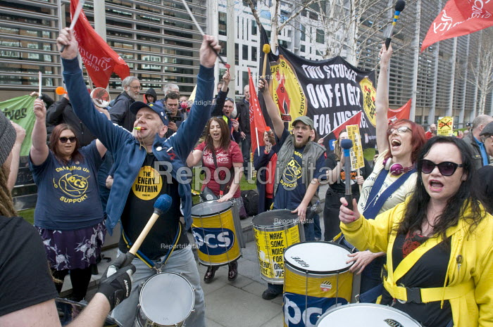 Make Some Noise For Orgreave protest at Home Office calling for public inquiry into policing at Orgreave during the MIners Strike and release of all state documents relating to the dispute - Stefano Cagnoni - 2017-03-13