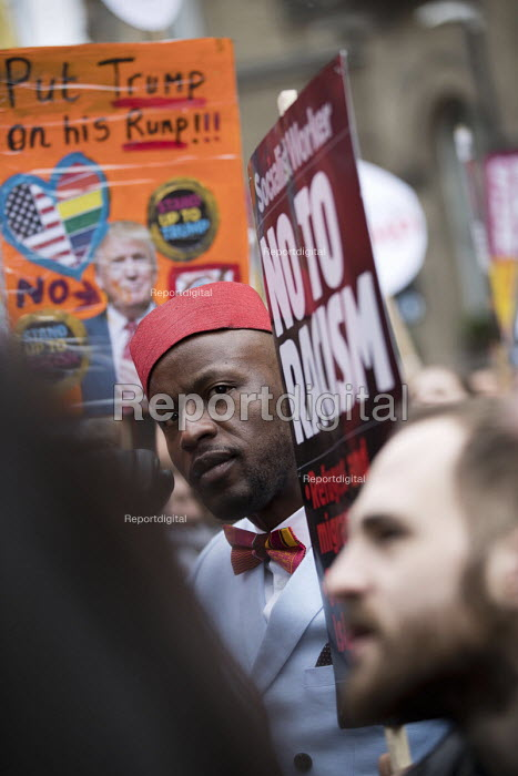 Stand up to Racism protest, UN Anti Racism Day, London - Jess Hurd - 2017-03-18