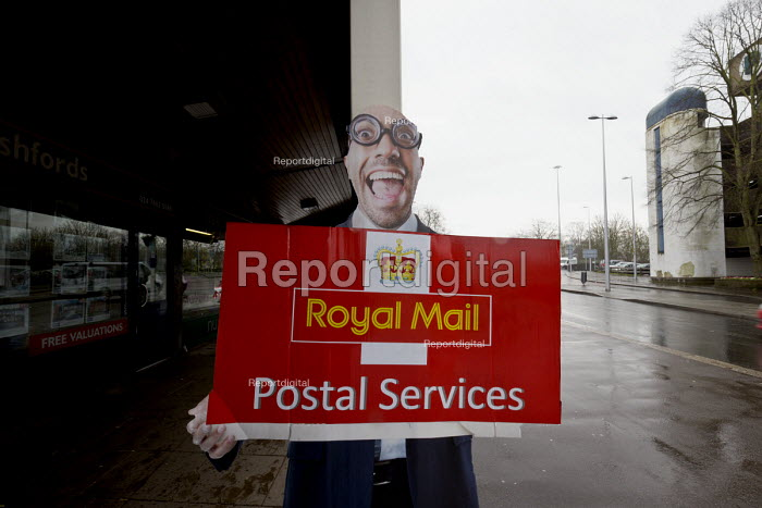 Cut out advertisement for Royal Mail Postal Services, Coventry - John Harris - 2017-03-30