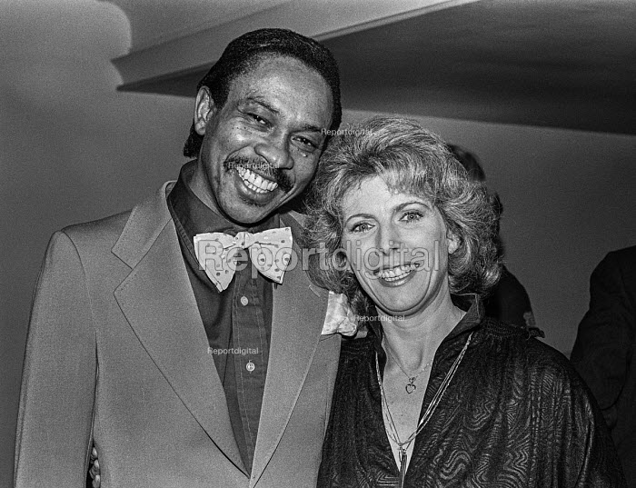 Billie Whitelaw with Norman Beaton at the Variety Club Awards - Peter Arkell - 1978-02-07