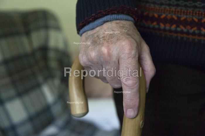 Pensioner in sheltered accommodation, Telford - John Harris - 2017-05-11