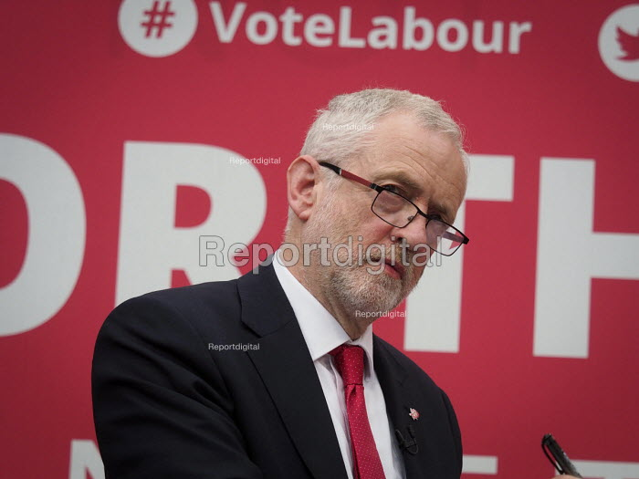Jeremy Corbyn, Labour Party General Election 2017 manifesto launch, Bradford - Mark Pinder - 2017-05-16