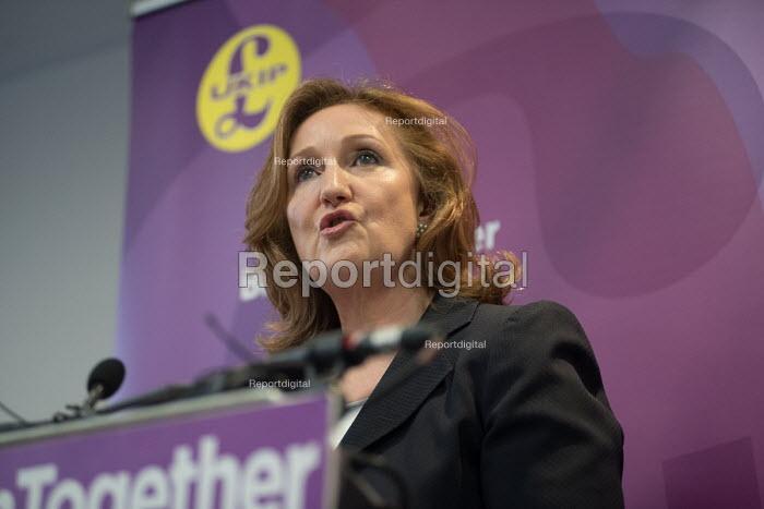 Suzanne Evans, UKIP election manifesto launch, Westminster, London - Philip Wolmuth - 2017-05-25