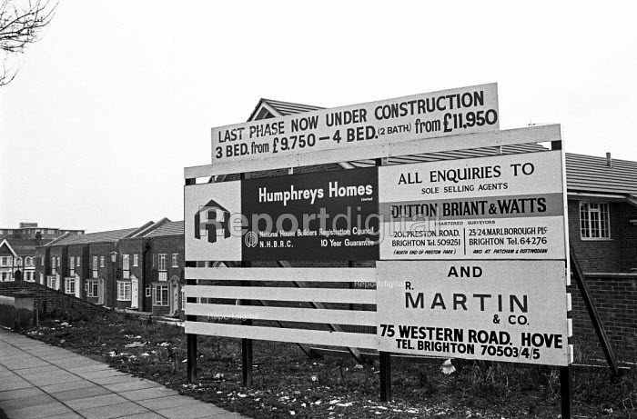 New family houses from under £10,000, Brighton, 1971 - NLA - 1971-03-06