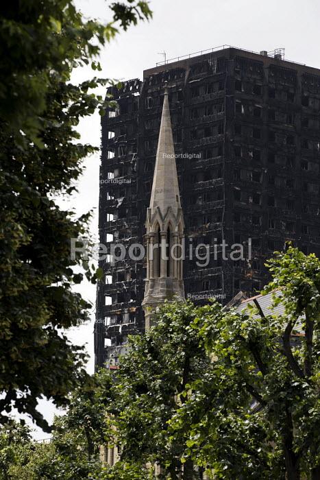 Grenfell Tower Fire, West London - Jess Hurd - 2017-06-22