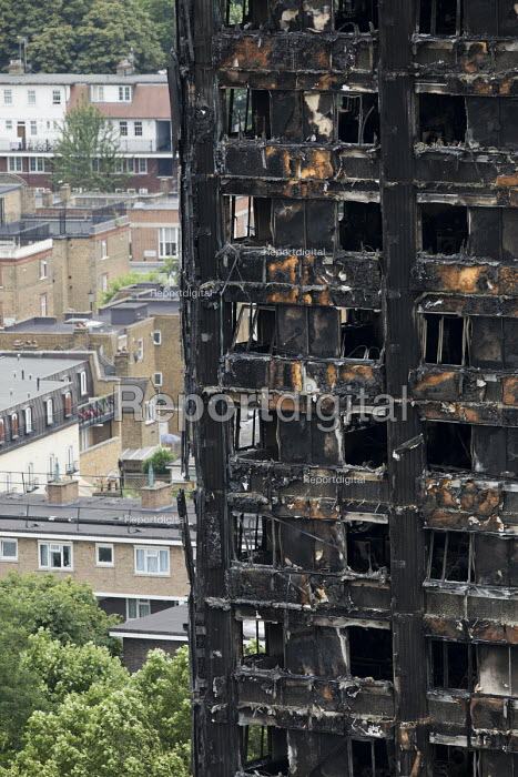 Grenfell Tower Fire, West London. - Jess Hurd - 2017-06-22