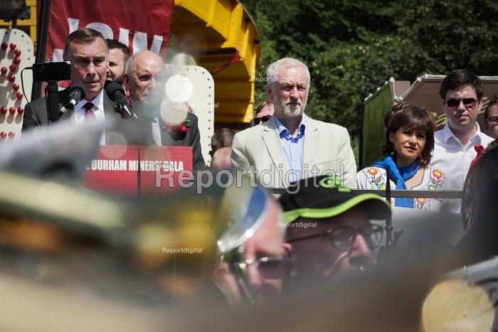 Jeremy Corbyn, Durham Miners Gala, Durham 2017 - Mark Pinder - 2017-07-08