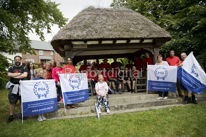 POA Trade Union Freedom Hike, Tolpuddle Martyrs Festival, Dorset - Jess Hurd - 2017-07-16