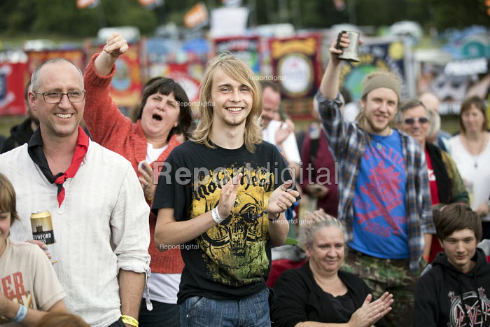 Skimmity Hitchers performing Tolpuddle Martyrs Festival, Dorset. - Jess Hurd - 2017-07-16