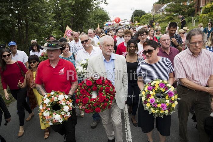 Jeremy Corbyn, Tolpuddle Martyrs Festival, Dorset. - Jess Hurd - 2007-07-16