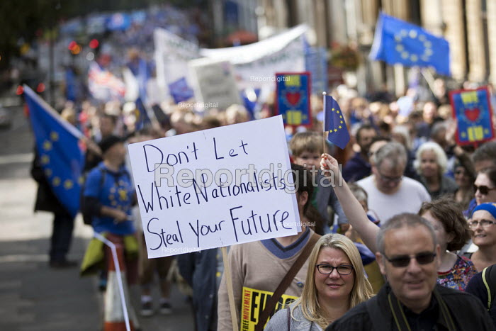 Peoples March for Europe, pro EU demonstration, London. - Jess Hurd - 2017-09-09