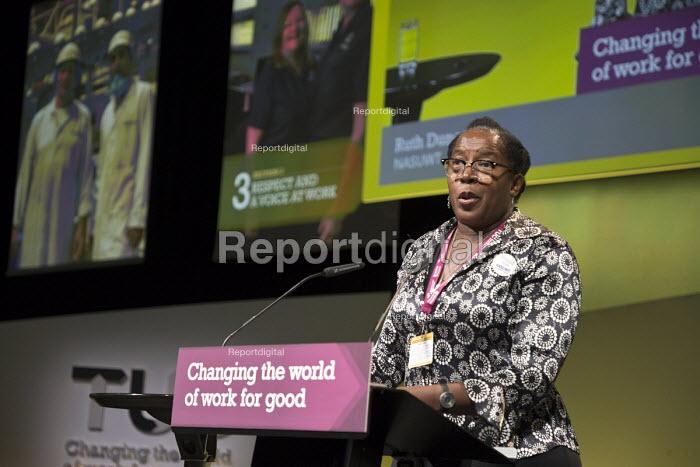 Ruth Duncan NASUWT speaking TUC Congress Brighton 2017 - John Harris - 2017-09-11