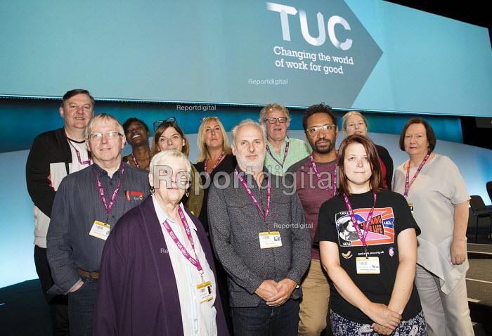 UCU delegation, TUC Congress, Brighton 2017 - Jess Hurd - 2017-09-12