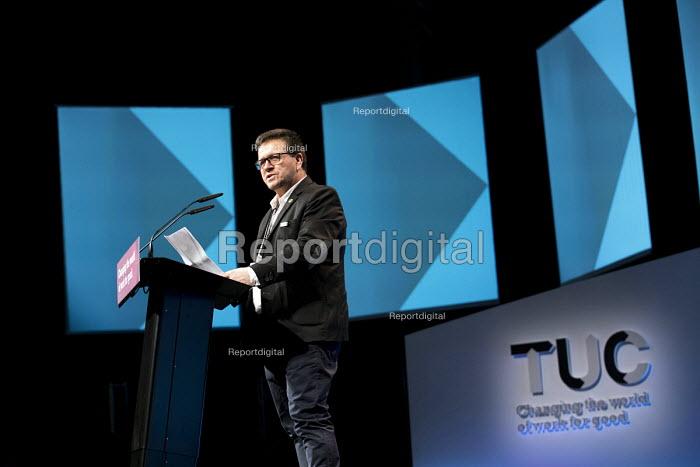 Huber Ballesteros speaking TUC Congress, Brighton 2017 - Jess Hurd - 2017-09-13
