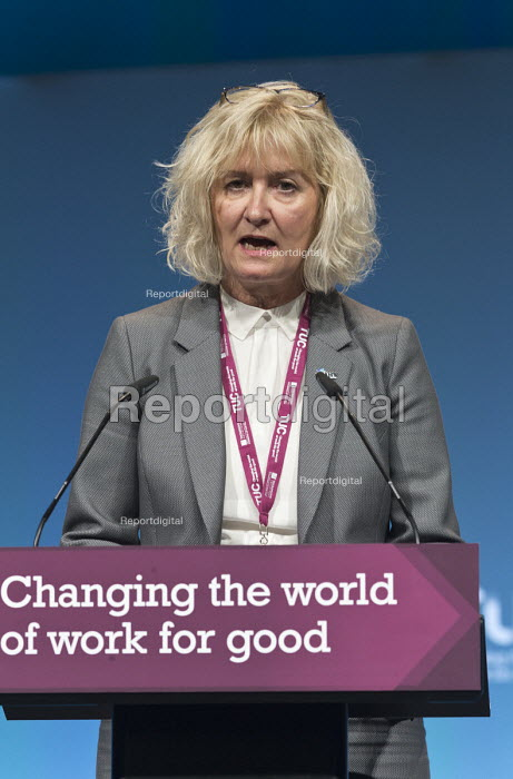 Anne Lyons NAHT speaking TUC Congress Brighton 2017 - John Harris - 2017-09-11