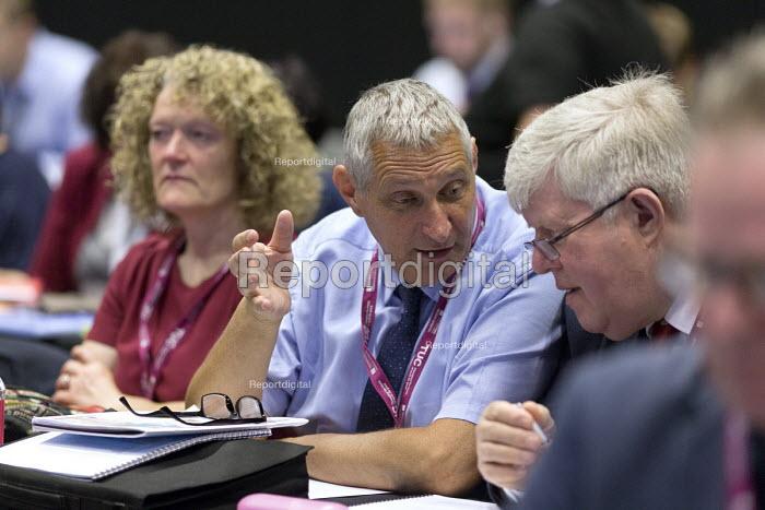 Eddie Saville, Paul Donaldson HCSA, TUC Congress Brighton 2017 - John Harris - 2017-09-12