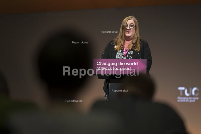 Yvonne Pattison NAPO speaking TUC Congress Brighton 2017 - John Harris - 2017-09-12