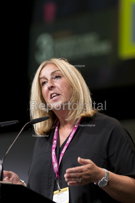 Vicky Knight TUC UCU Womens Conference speaking TUC Congress Brighton 2017 - John Harris - 2017-09-13