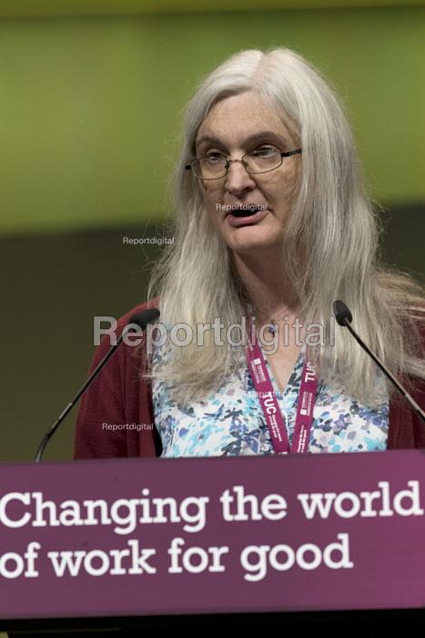 Debbie Hayton NASUWT speaking TUC Congress Brighton 2017 - John Harris - 2017-09-13