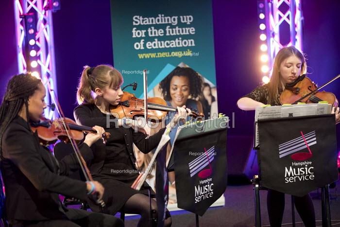 Hampshire String Quartet, MFY,NEU playing at TUC Congress, Brighton 2017 - Jess Hurd - 2017-09-13